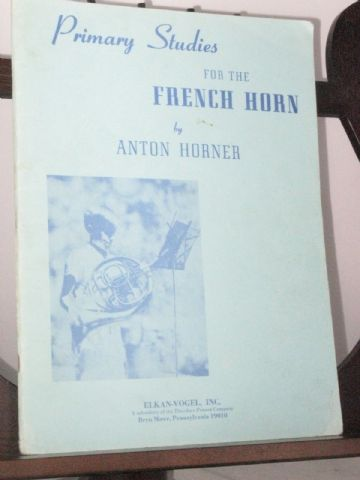 Horner A - Primary Studies for the French Horn